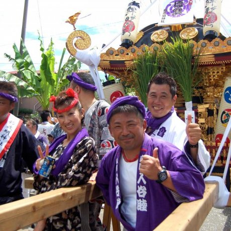 Zama Suzuka Shinto Shrine Festival