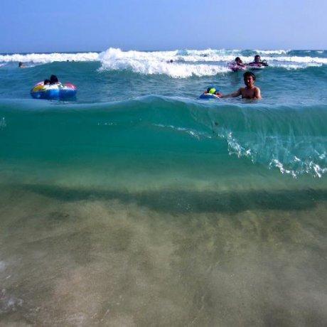Cool Off at Izu Tatadohama Beach
