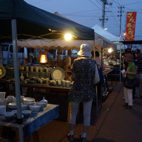 Aizu Hongo Morning Pottery Market