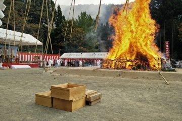 Hakkai-san Firewalking Festival