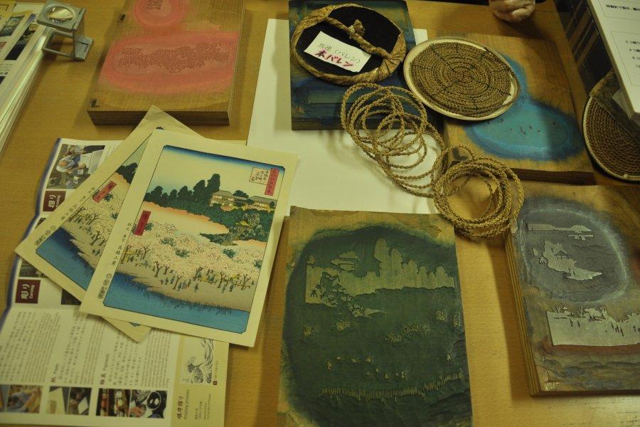 Woodblock Printing in Tokyo