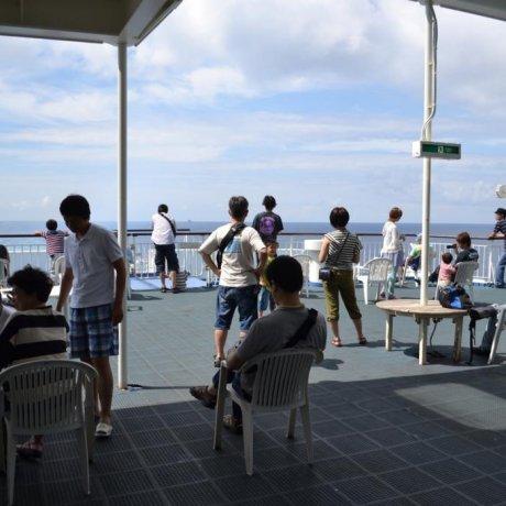 The Shin Nihonkai ferry to Hokkaido