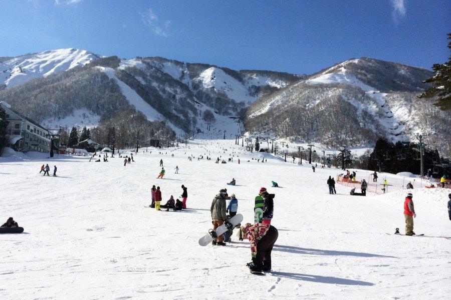 Hakuba Ski Village in Nagano