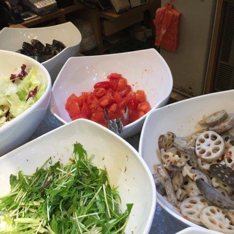 Healthy Organic Buffet in Ginza
