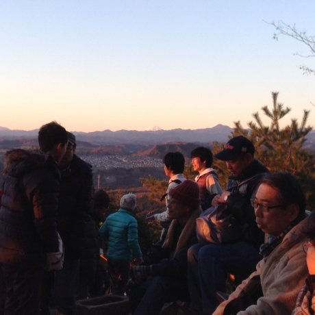 New Year's Day on Mt. Hiwada