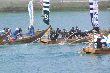 The Murakami Suigun Boat Race