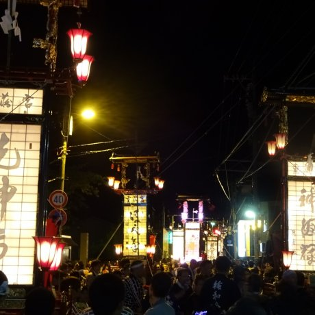 Juzo Shrine Festival in Wajima