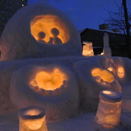 Otaru Snow Light Path Festival 2016