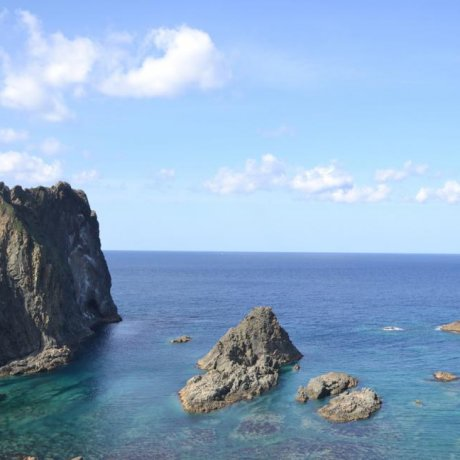 Shimamui Coast at Cape Shakotan