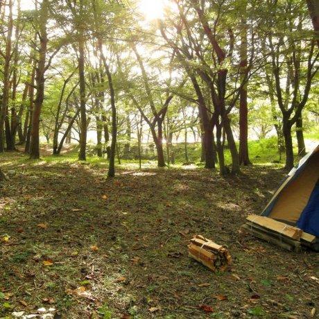 Camping at Motosuko Lake & Mt. Fuji