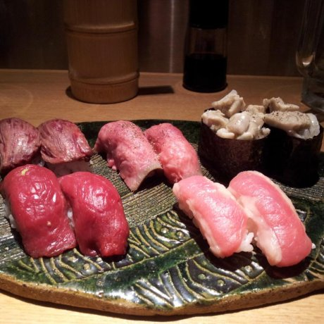 Niku Sushi in Sangenjaya