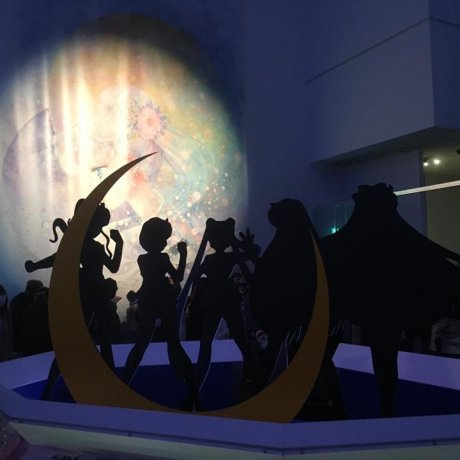 Sailor Moon at Mori Art Museum
