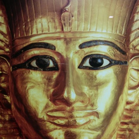 Golden Pharaohs and Pyramids Exhibit