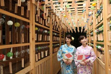 Saitama's Enmusubi Wind Chime Festival