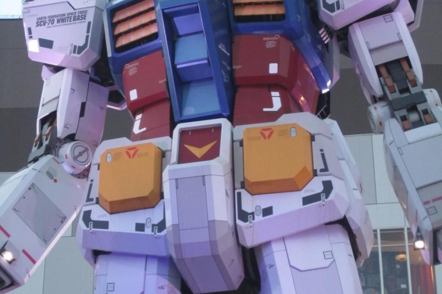 Gundam Cafe Odaiba