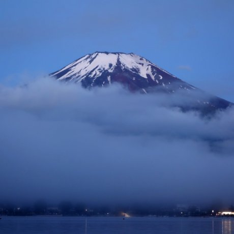 Mt. Fuji & Yamanakako before Dawn