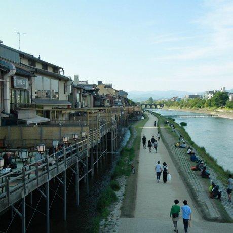 A Walk Along Kamo River