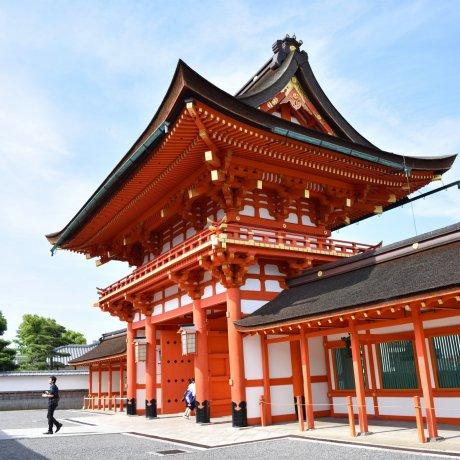 The Fushimi Inari Torii River