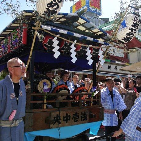 The Grand Sanja Festival Parade