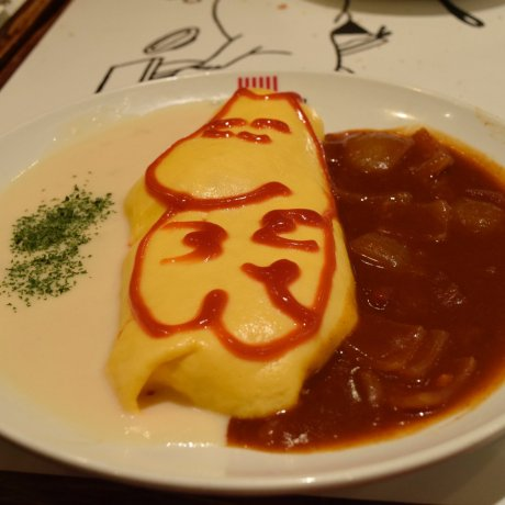 Moomin Troll Cafe in Fukuoka