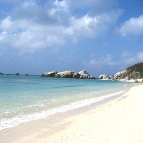 Aharen Beach on Tokashiki Island