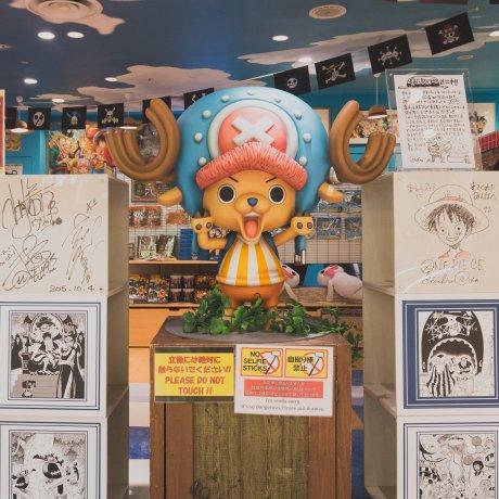 One Piece Mugiwara Store in Tokyo