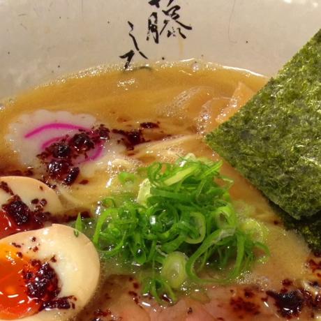 Creamy Chicken Ramen in Tokyo