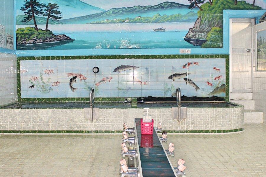 Traditional Sento in Iidabashi