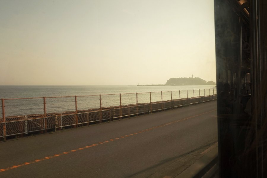 Sunset in Enoshima