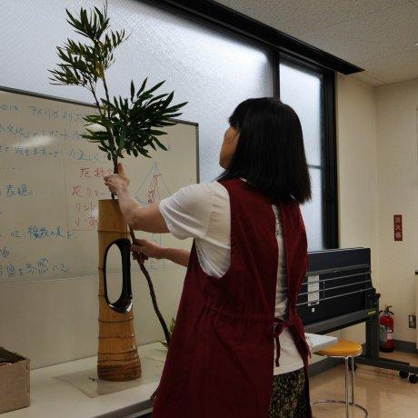 Ikebana Class in Kawagoe