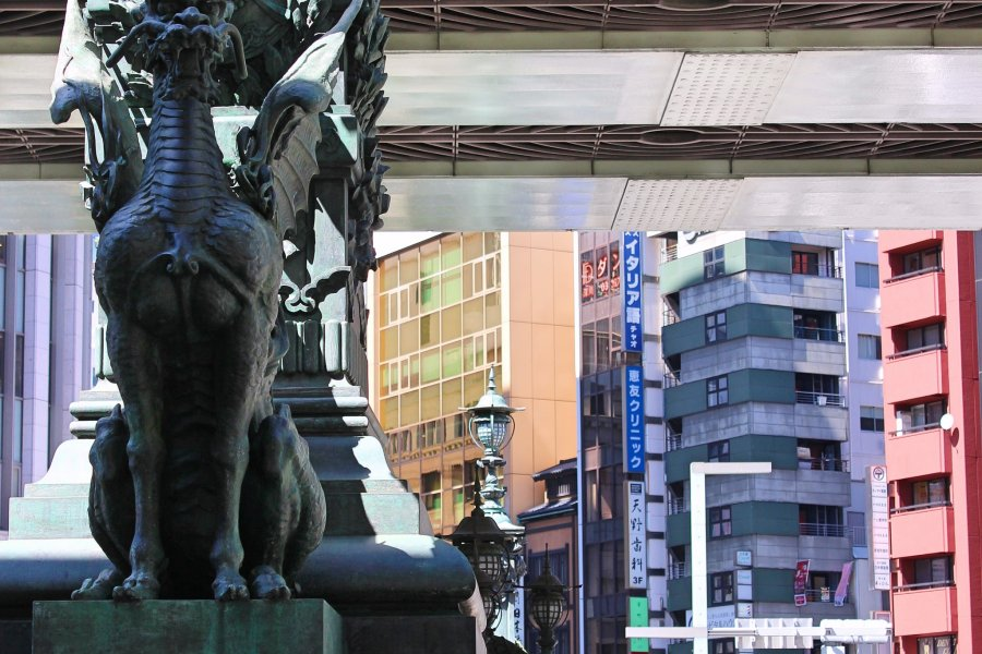 Nihonbashi and Memories of Edo Era