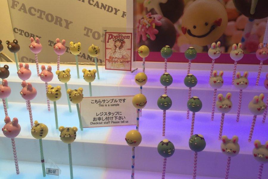 Totti Cotton Candy in Harajuku