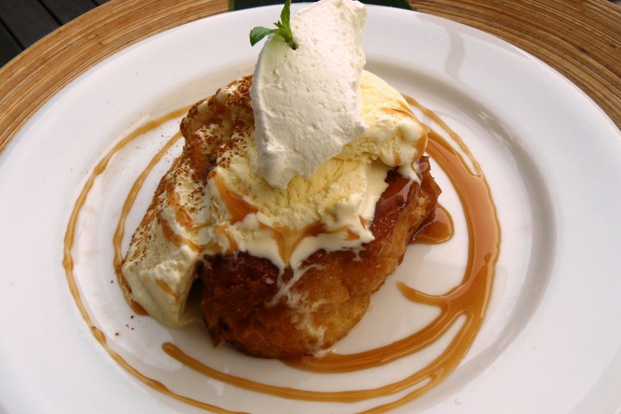 LON Cafe - French Toast in Enoshima
