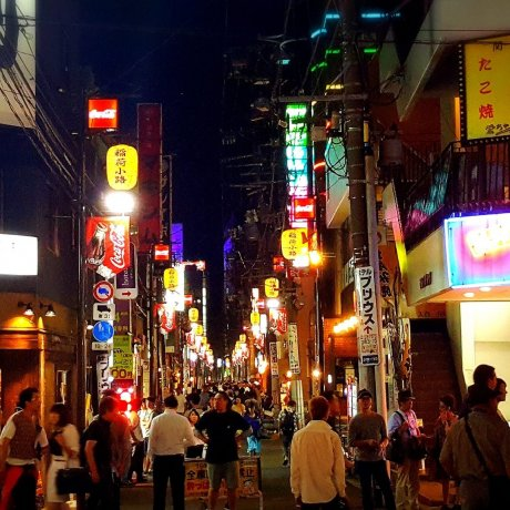 Night Life in Kokubunchô, Sendai