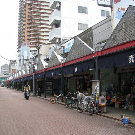 Tsukishima Neighborhood of Tokyo