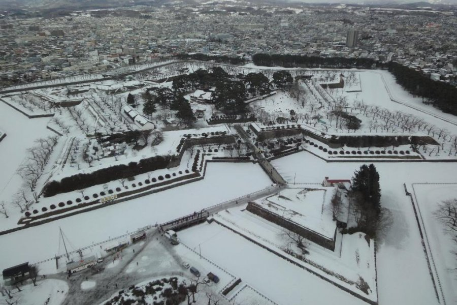 Goryokaku Fort of Hakodate