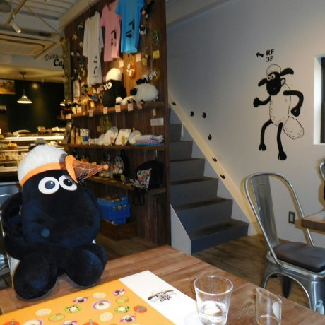 Shaun the Sheep Cafe Osaka