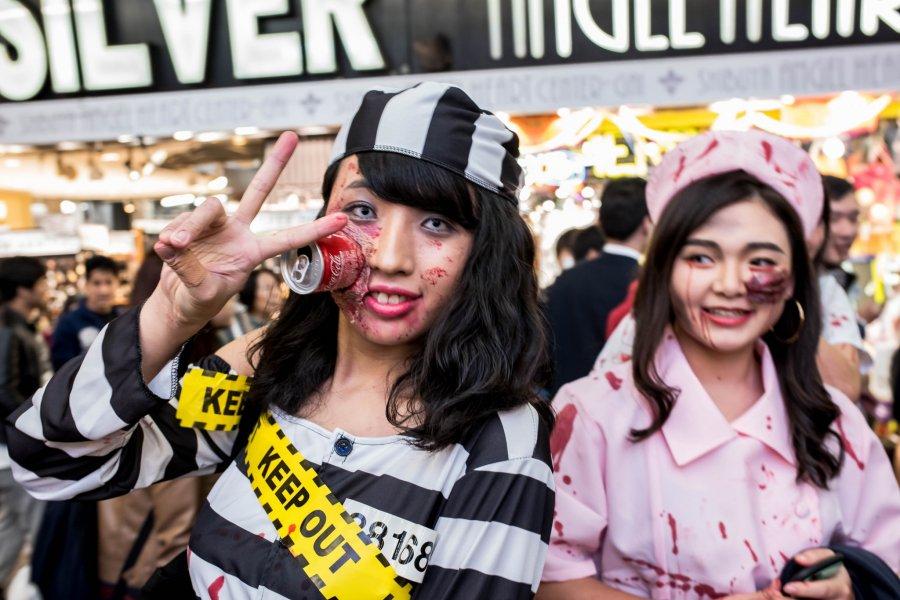 Halloween Shibuya Shenanigans