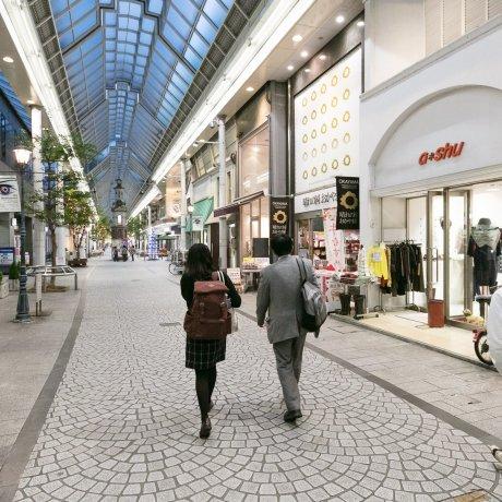 Shopping in Okayama