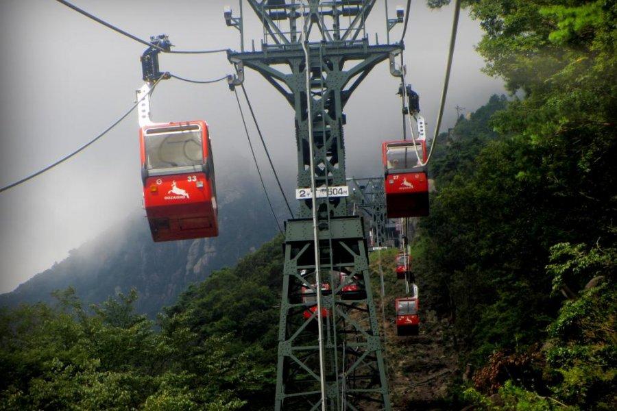 Views from the Gozaisho Ropeway