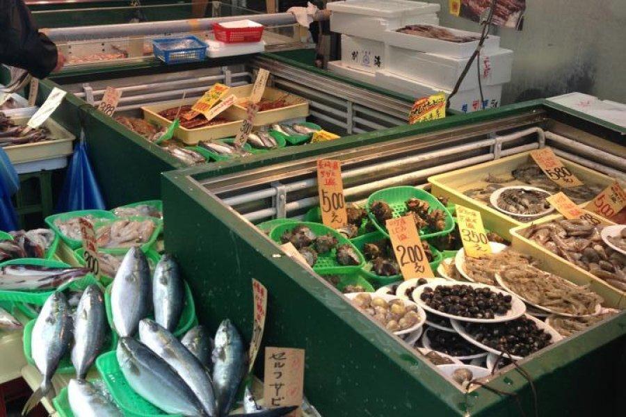 Sunamachi Ginza's street food