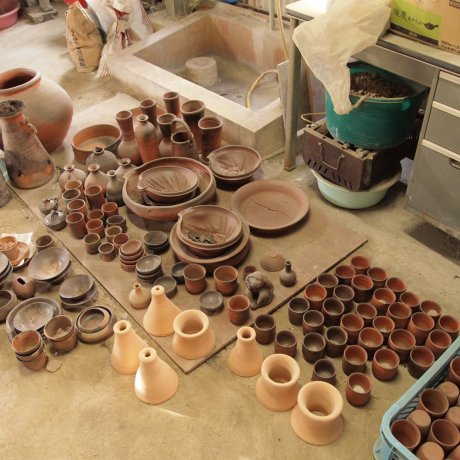 Bizen Pottery in Okayama Prefecture