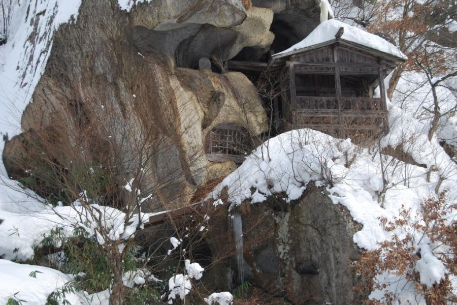 Yamadera in Winter