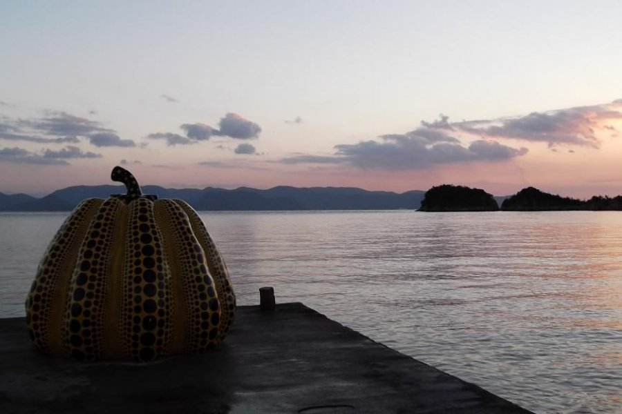 Outdoor Art on Naoshima