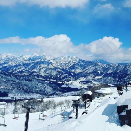 Blue Skies at Hakuba Happo-One
