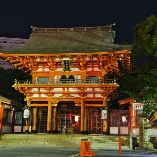 Ikuta Shrine in Kobe