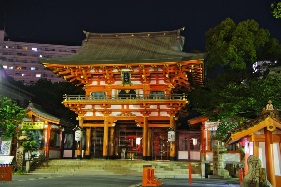 Ikuta Shrine in Kobe