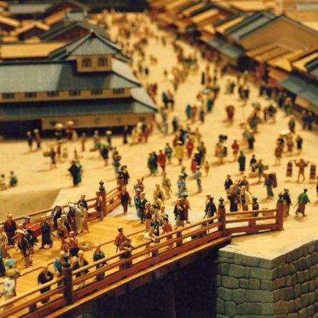 Edo Tokyo Museum in Ryogoku