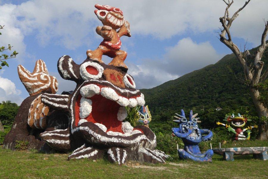 Ishigaki Island's Psychedelic Shisa