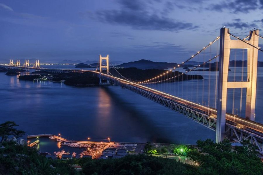 The Great Seto Ohashi Bridge
